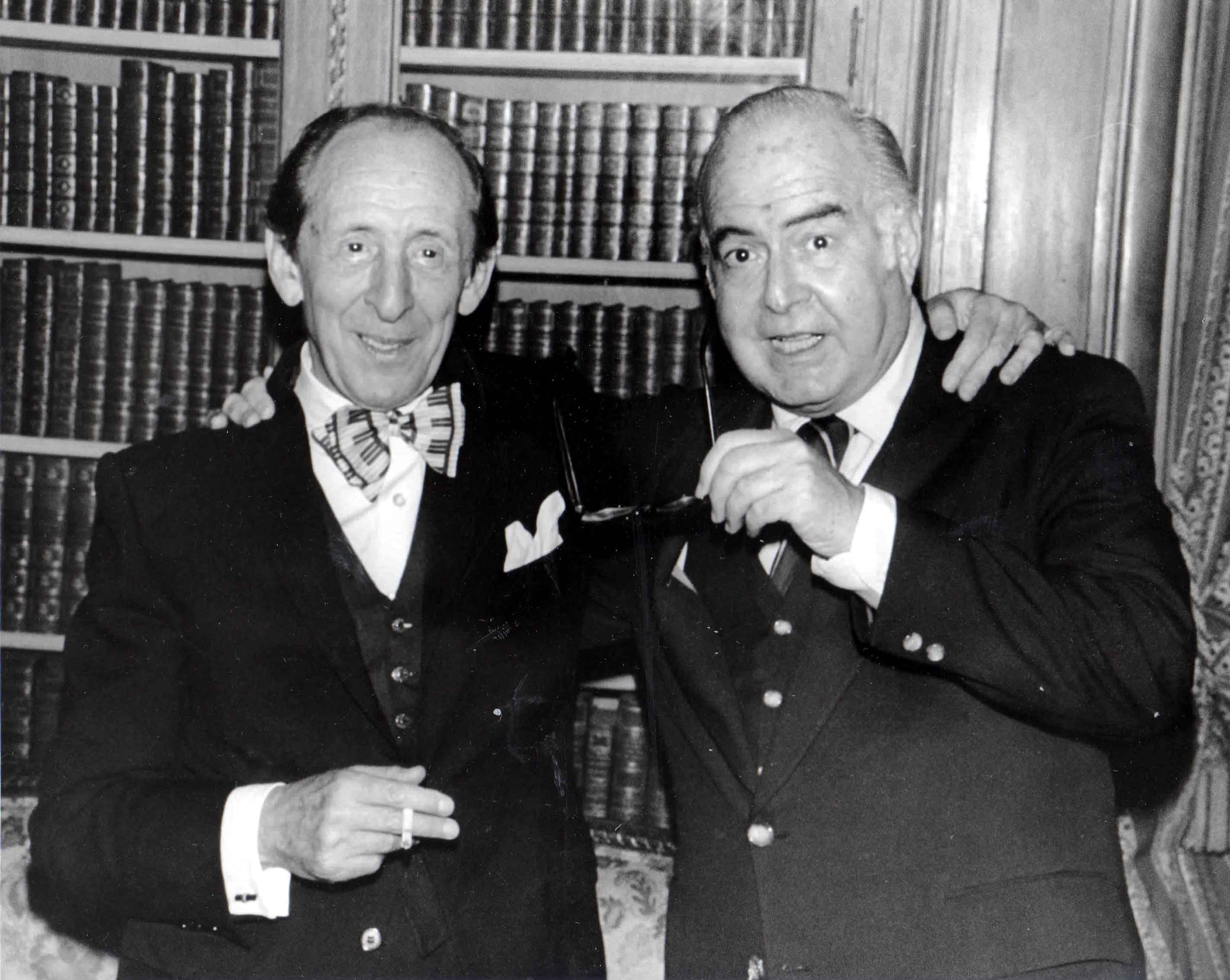 Samuel Barber and Vladimir Horowitz once again reunited.